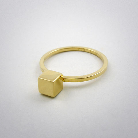 ring,-,straight,two,au,Ring, 750 Gold, süß, straight