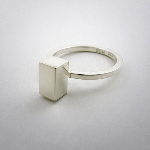 ring,-,straight,three,Ring, 925 Sterling Silber, straight
