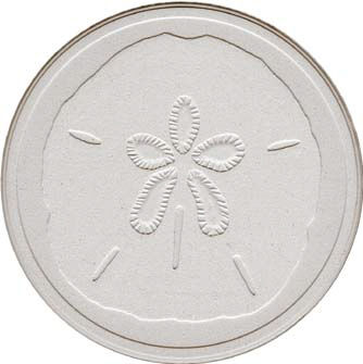 Coasterstone,-,Sand,Dollar,Culinary:Coasters,etched coasterstone sand dollar