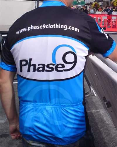 Phase9 Logo Cycling Jersey - product images  of