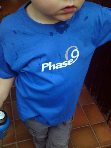 Phase9,Logo,Kids,T-shirt,Phase9 Clothing, Clothing, MTB, Cycling, Biking, Kids, Bike, T-shirt