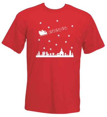 Santa,Christmas,Jumper,T-Shirt,Phase9, Tshirt, MTB, Mountain Biking, Cycling, Road, Xmas, Christmas, Jumper