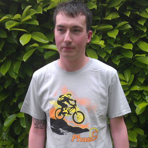 Bike,Organic,T-Shirt,Phase9 Clothing, Cycling, Clothing, MTB, Biking, Snowboarding, Perfomance, T-shirt, Tshirt