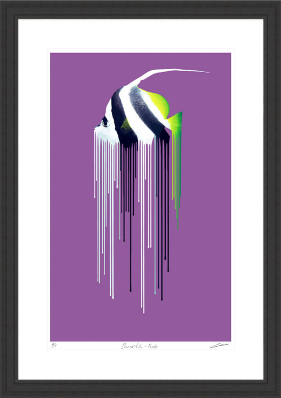 Banner Fish Purple - product images  of
