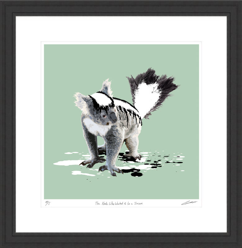The Koala Who Wanted to be a Skunk - product images  of