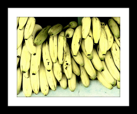 Going,Banana's,hand colored photography,hand colored photograph, hand colored photography  artists, hand colored photo,hand tinted photograph