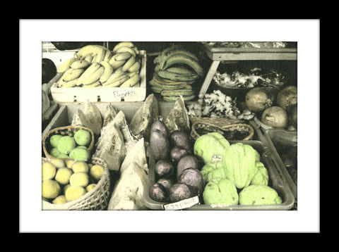 Veggies,hand colored photography,Hand colored photograph, hand colored photography  artists, Hand colored photo, Hand tinted photo, St. Thomas USVI