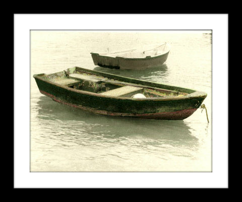 The,Water,Bay,Dinghy,hand colored photography,Hand colored photographs, hand colored photography  artists, Hand colored photo, Hand tinted photographs, St. Thomas USVI