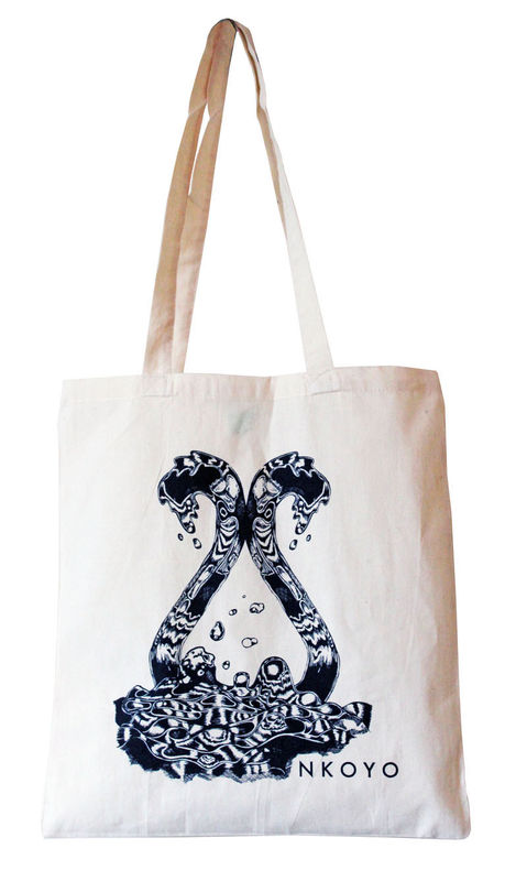 NKOYO water tote bag navy - product images  of