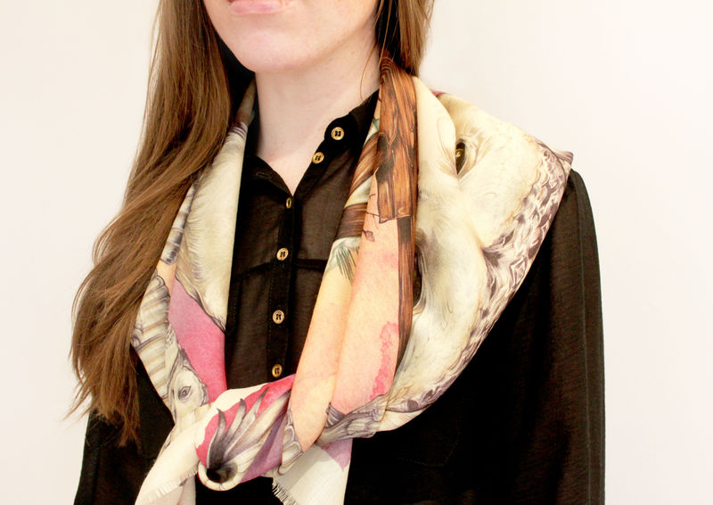 Snowy Owl Scarf - product images  of