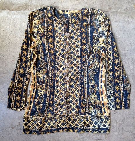 NAUGHTY,NAVY,&,GOLD,MINI,DRESS/JACKET,vintage, mini dress, top, gold buttons, pattern