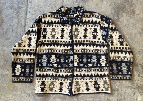 MADE,IN,INDIA,TRIBAL,WOVEN,JACKET,vintage, woven, tribal print, made in India