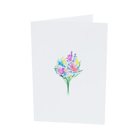 Myla,Bouquet,Greeting,Card,bouquet, floral card, flowers, thinking of you, wedding card, bridal card, bridesmaid card