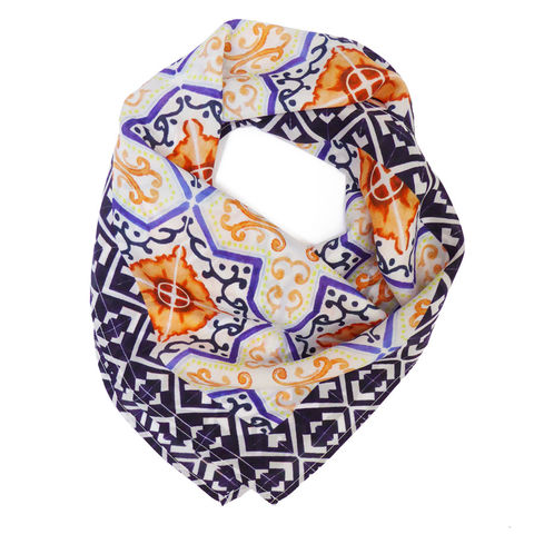 Catalina,Square,Silk,Scarf