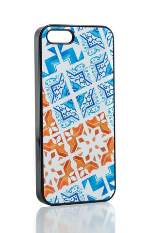 Patchwork,Tile,iPhone,Case