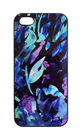 Anya,Black,Phone,Case,trend, flowers, floral, style, design, iphone, iphonecase, phonecase