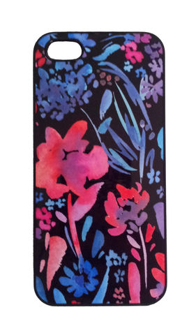 Eden,Black,Phone,Case,trend, flowers, floral, style, design, iphone, iphonecase, phonecase