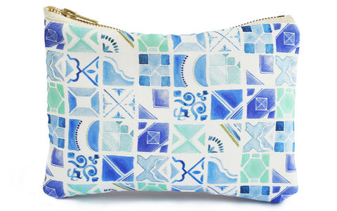 Mosaic,Clutch,Bag