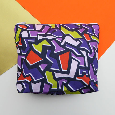 Ester,Wash,Bag,wash bag, travel bag, cosmetic bag, geometric, style, design, fashion, holiday