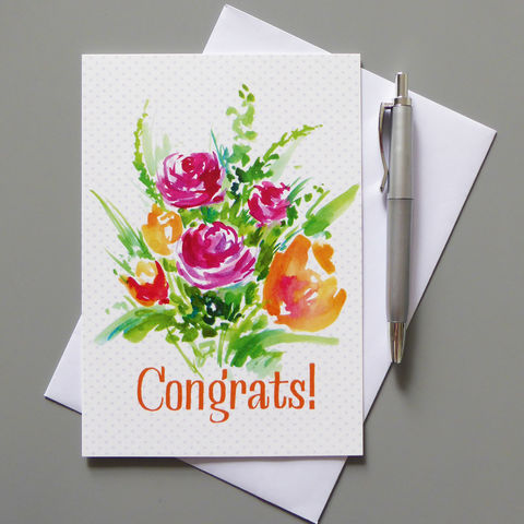 Congrats,Card,congratulations, congrats card, celebration, celebrate, celebration card, congratulations card, graduation card, well done card, greeting card