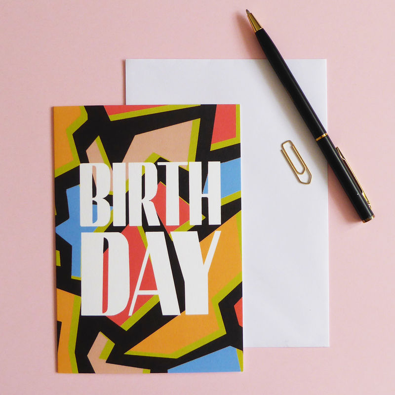 Happy Birthday Card - product image