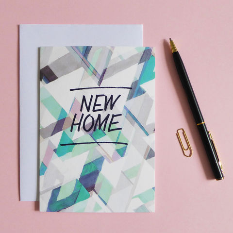 New,Home,Card,New home card, new home, greeting card, welcome home, new house