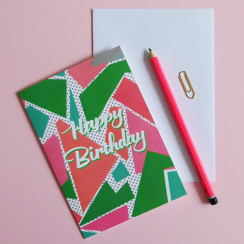 Happy,Birthday,Card,happy birthday card, birthday card, made in england, greeting card