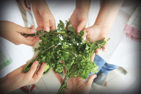 Herbs,in,French,Cooking,cooking classes Lyon France