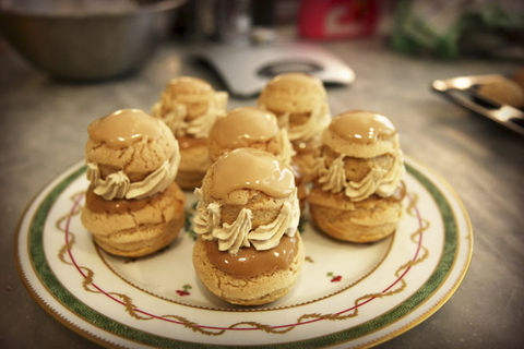 La,Religieuse,,a,French,Pastry,Experience.,pastry classes cooking cookery classes Lyon, France Plum Lyon