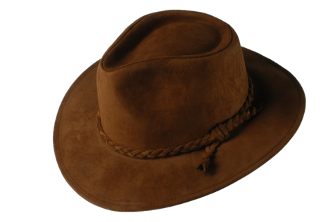 Brown,Fer,Suede,Leather,Hat,Suede Hat, Leather Hat, Waterproof Hat, Argentine Hats, Argentinian Hats, Suede Hats, Leather Hats, Waterproof Hats, Estribos, Estribos Argentina, Polo Belts, Estribos Polo Belts