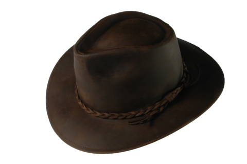 Brown,Fer,Waxed,Leather,Hat,Suede Hat, Leather Hat, Waterproof Hat, Argentine Hats, Argentinian Hats, Suede Hats, Leather Hats, Waterproof Hats, Estribos, Estribos Argentina, Polo Belts, Estribos Polo Belts