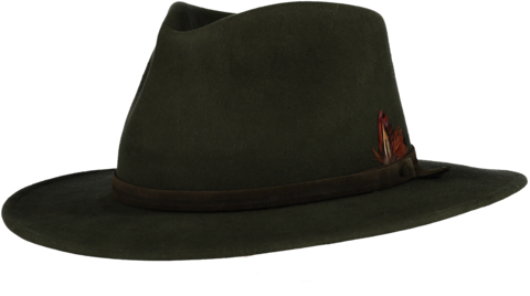Green,Fur,Felt,Fedora,Felt Hat, Green Hat, Waterproof Hat, Argentine Hats, Argentinian Hats, Suede Hats, Leather Hats, Waterproof Hats, Estribos, Estribos Argentina, Polo Belts, Estribos Polo Belts