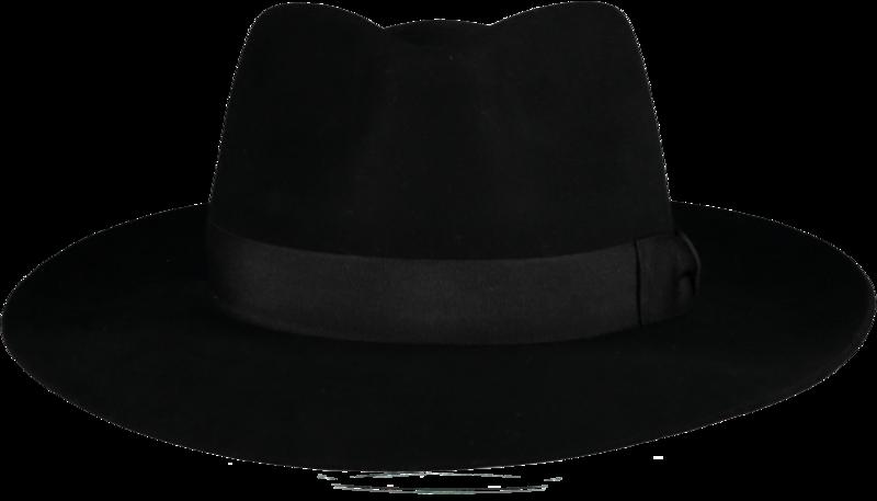 Black Ha Fur Felt Hat - Home of the Original Estribos Polo ...