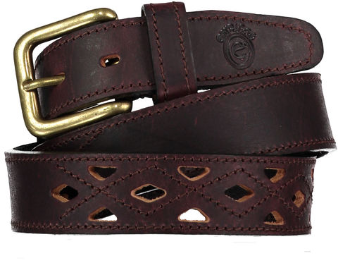 Marron,Calado,Belt, Polo Belt, Argentine Belts, Argentinian Belts, Polo Belts, Belts, Estribos, Estribos Argentina, Gaucho Belts, Leather Belts, Gaucho Belt, Pampeano, Pioneros, Polka Dot Pie, Daltons, Guarda Pampa, Argentina, Leather, Polo