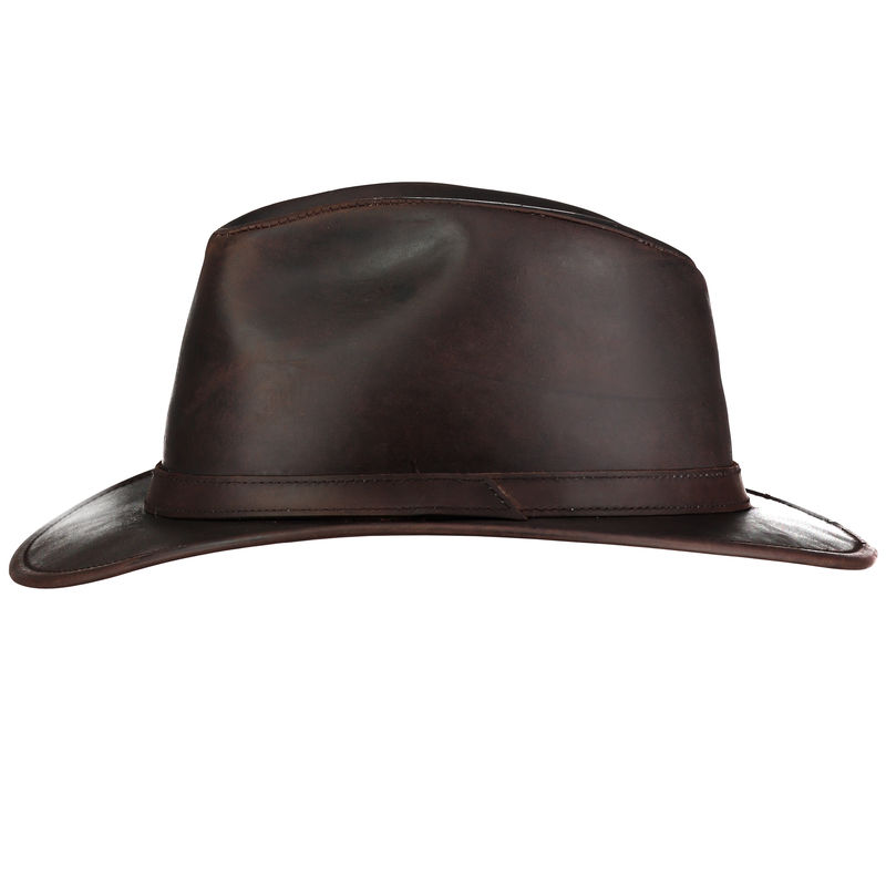 32d4e0d119632 Indiana Waxed Leather Hat - Home of the Original Estribos Polo Belt