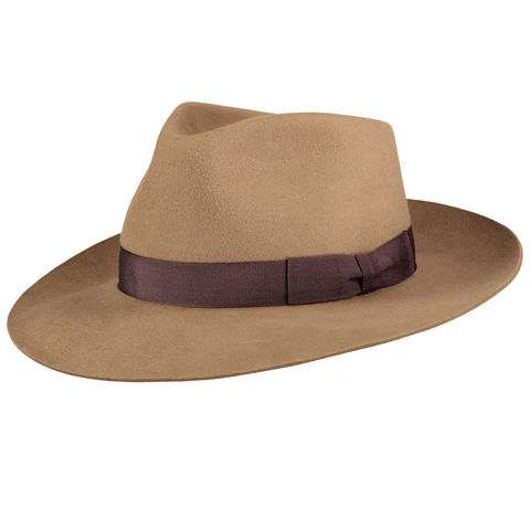 Camello,'Ha',Fur,Felt,Hat,Felt Hat, Blue Hat, Waterproof Hat, Argentine Hats, Argentinian Hats, Suede Hats, Leather Hats, Waterproof Hats, Estribos, Estribos Argentina, Polo Belts, Estribos Polo Belts