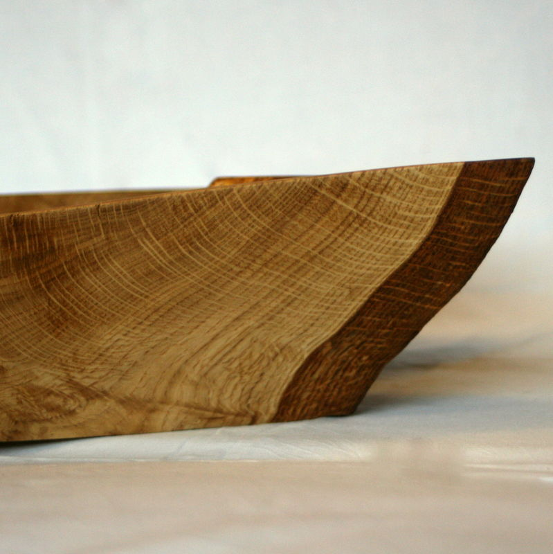 Rustic Oak Bowl - product image