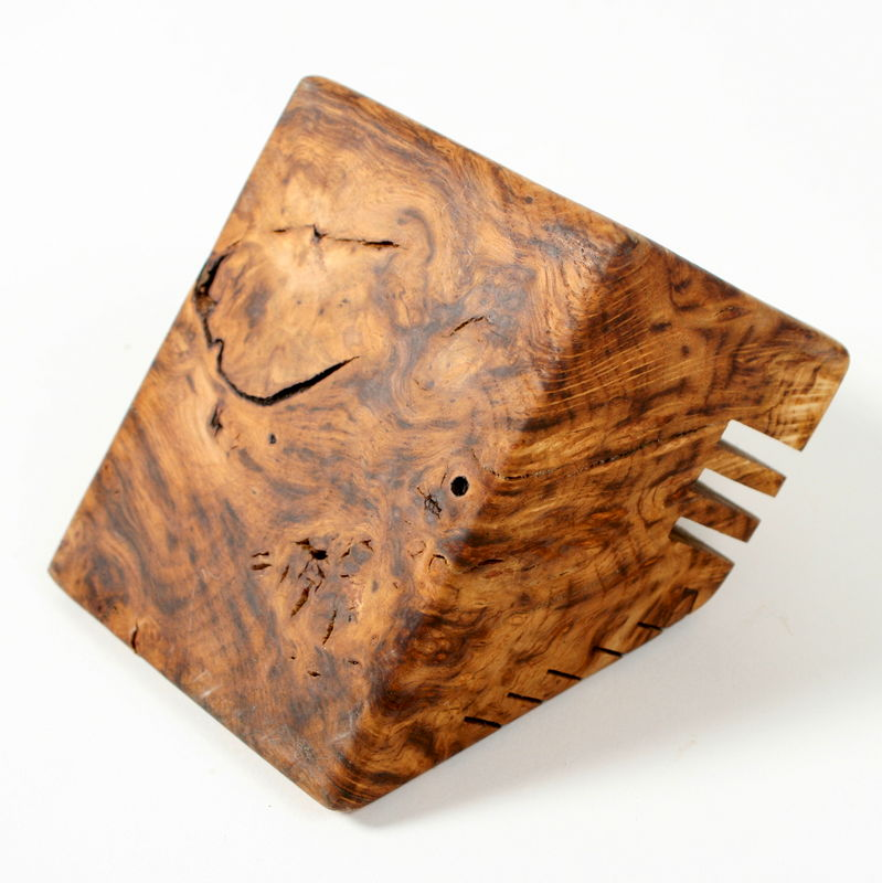 Oak Burr Desk Tidy - product image