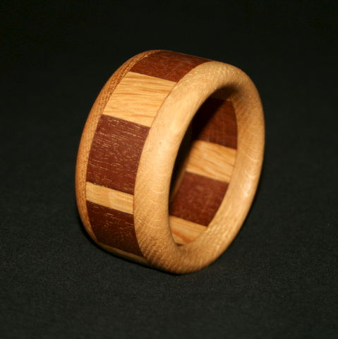 Wooden,Bangle,Segmented,with,Mahogany,&,English,Oak,(child's/small,adult),Wooden Bangle, Wood Bangle, Wooden Bracelet, Oak Bangle