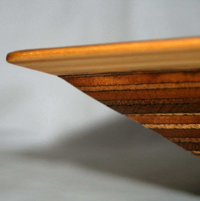 Triangular Plywood Fruit Bowl - product image