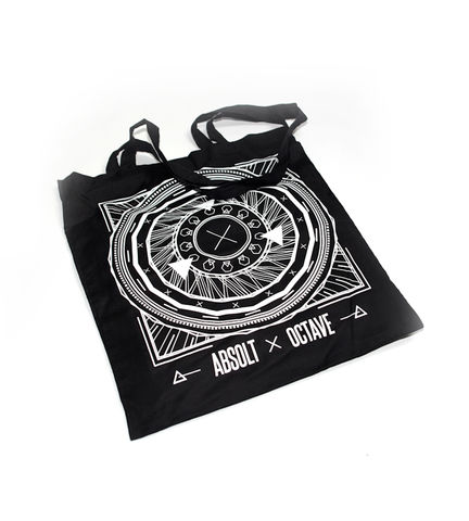Absolt,x,Octave,-,Totebag,totebag, fdlm, lille, absolt, octave, production