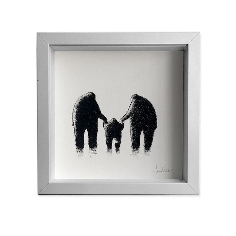 Mummy, Daddy & Me (mini) - NadeemArt Shop