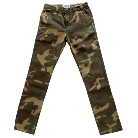 Baldwin,Denim,-,The,Ryan,in,Woodland,Camo,Baldwin camo, The Ryan, Camo, Woodland camo, chino, twill, Jay-Z camo, Kanye pants