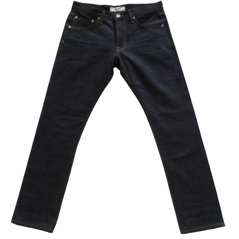Baldwin,Denim,-,The,Henley,in,Raw,Selvage,Dry, Denim, The Henley, Selvage, selvedge, dry, Nihon Menpu, Japanese, made in the U.S.A., usa