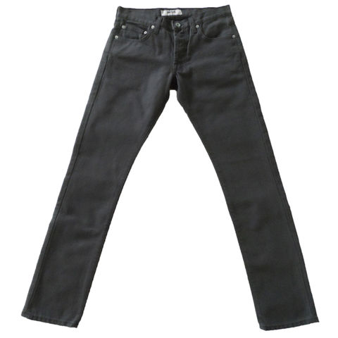 Baldwin,Denim,-,The,Henley,in,Charcoal,Twill, denim, twill, charcoal, graphite, made in the USA, grey, gray, jeans