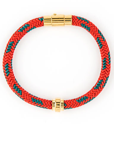 Mister,-,Mr.,Cable,Bracelet,Red, cable, bracelet, red, gold, SF
