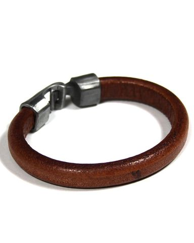 Mister,-,Mr.,Leather,Band,Chocolate, SF, leather band, made in the usa, bracelet