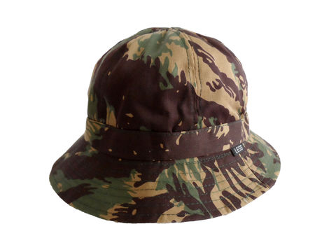Less,Camouflage,Military,Bucket,Hat,(Reversible,gry),Less Military Camouflage hat, bucket hat, camo hat, reversible hat, chambray hat