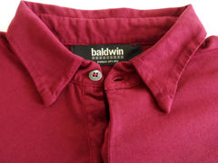 Baldwin Long Sleeve Premium Polo - Burgundy - product images 2 of 4