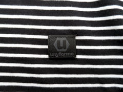 Unyforme Neptune Tee - Black & White - product images 3 of 3